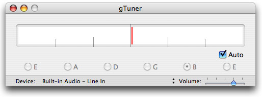 Screenshot 1 for gTuner