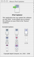 Screenshot 2 for Apple iPod Updater