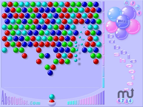 Screenshot 1 for Bubble Shooter