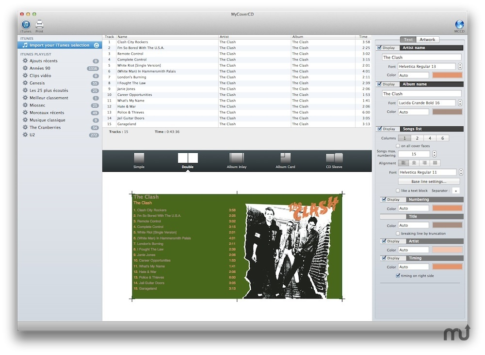 Screenshot 1 for MyCoverCD