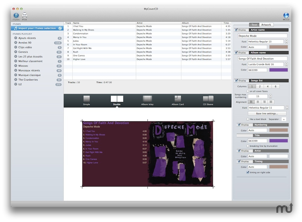 Screenshot 5 for MyCoverCD