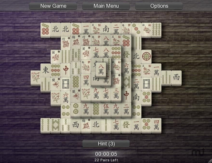 Screenshot 1 for Mahjong Solitarus