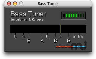 Screenshot 1 for RK Bass Tuner