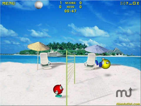 Screenshot 1 for Volley Balley