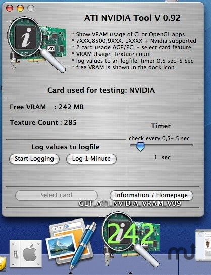 Screenshot 1 for ATI NVIDIA GET VRAM