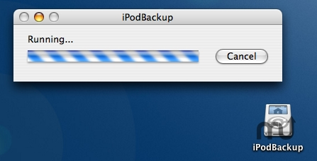 Screenshot 1 for iPodBackup