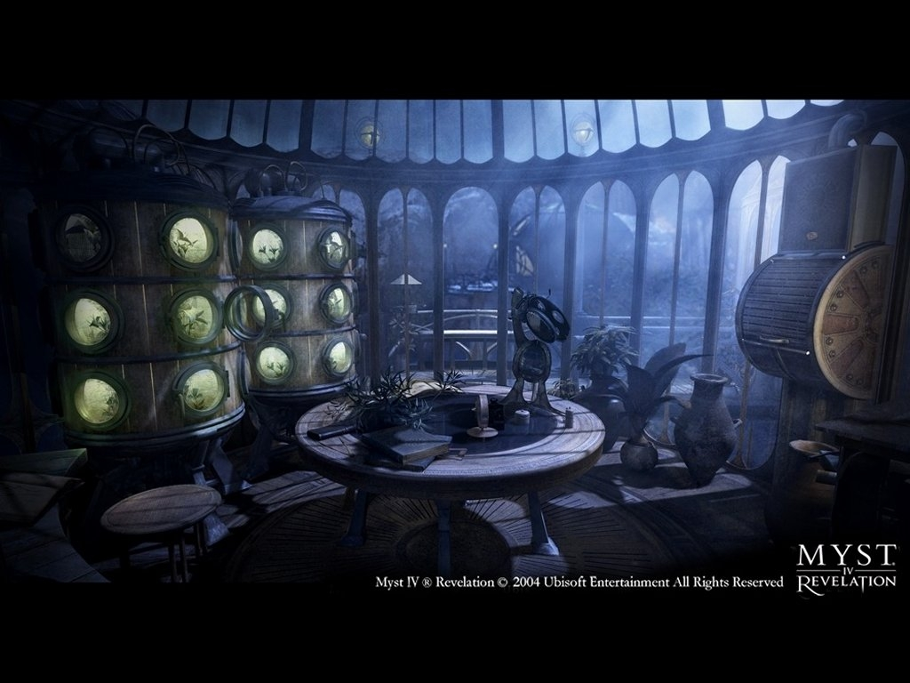 Screenshot 1 for Myst IV: Revelation