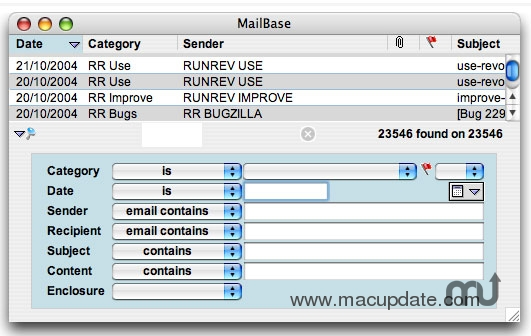 Screenshot 1 for FastMailBase