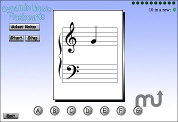 Screenshot 2 for Westlund Piano Method FlashCards