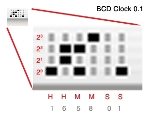 Screenshot 1 for BCDClock