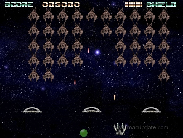 Screenshot 1 for Arcade Invaders