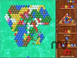 Screenshot 1 for Bubble Snooker