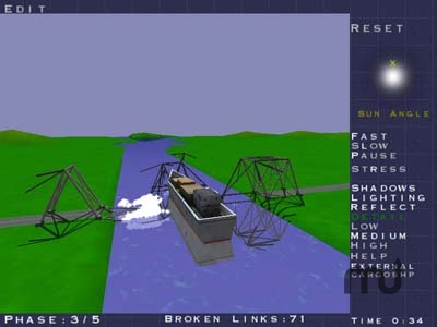 Screenshot 1 for Bridge Construction Set
