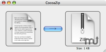 Screenshot 1 for CocoaZip