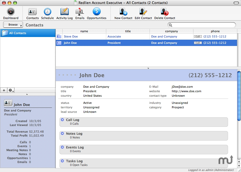 Screenshot 1 for Redlien Account Executive