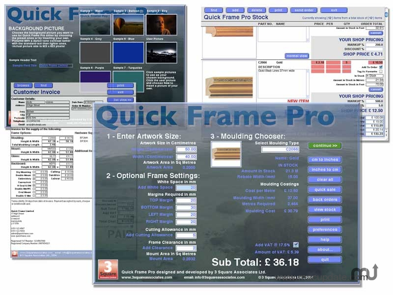 Screenshot 1 for QuickFrame Pro