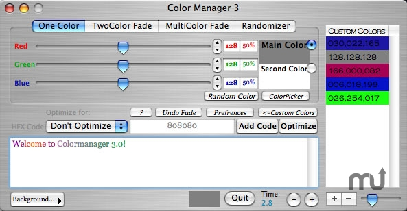 Screenshot 1 for Colormanager3