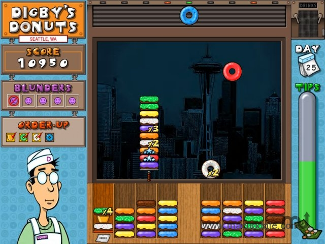 Screenshot 1 for Digby's Donuts