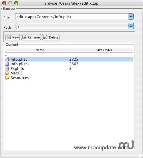 Screenshot 1 for JResourceBrowser
