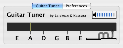 Screenshot 1 for Guitar Tuner AU