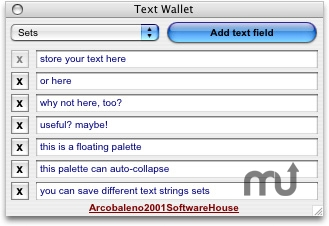 Screenshot 1 for Text Wallet