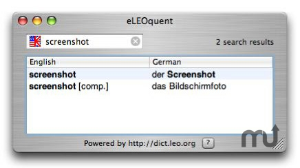 Screenshot 1 for eLEOquent