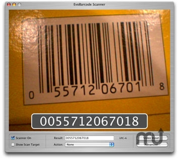Screenshot 1 for EvoBarcode