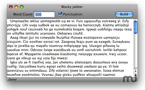 Screenshot 1 for Wacky Jabber