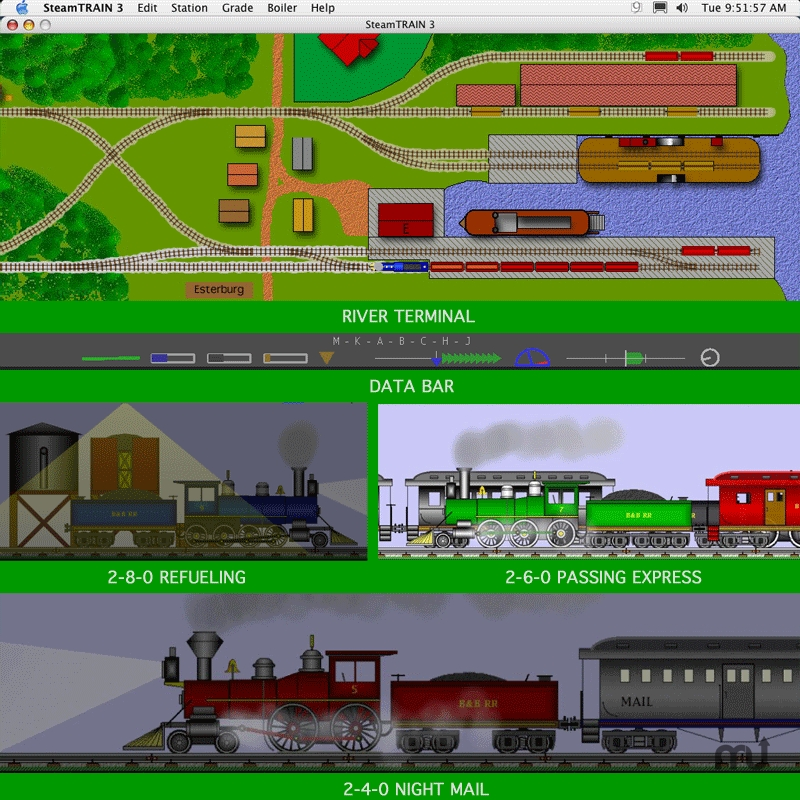 Screenshot 1 for SteamTRAIN