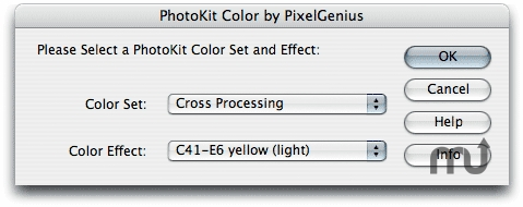 Screenshot 1 for PhotoKit Color