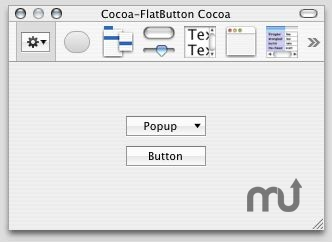 Screenshot 1 for Flat Button Cocoa