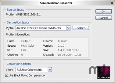 Screenshot 1 for Aurelon nColor Converter