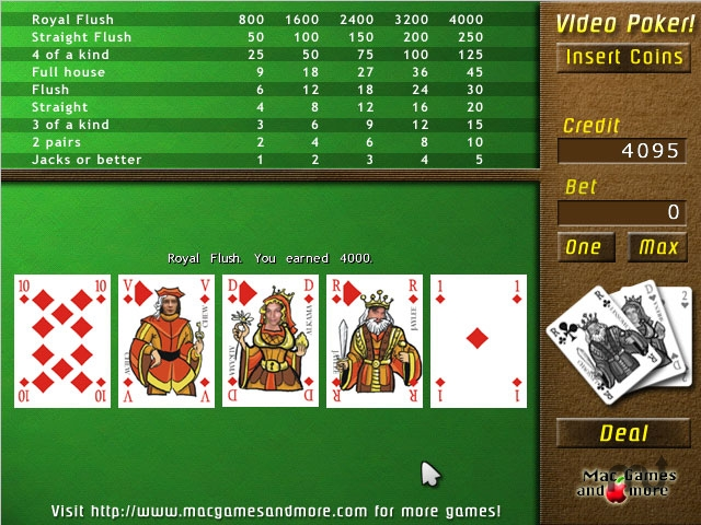 Screenshot 1 for UglyPoker
