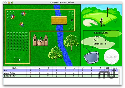 Screenshot 1 for Clubhouse Mini-Golf