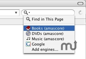 Screenshot 1 for amascore search