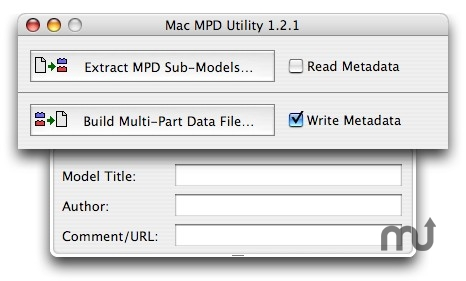 Screenshot 1 for Mac MPD Utility