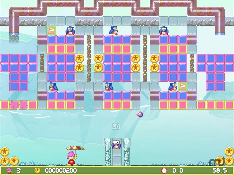 Screenshot 1 for Parasol Wallop!