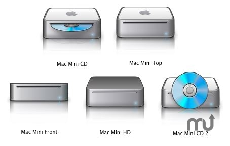 Screenshot 1 for Mac Mini Icons Pack
