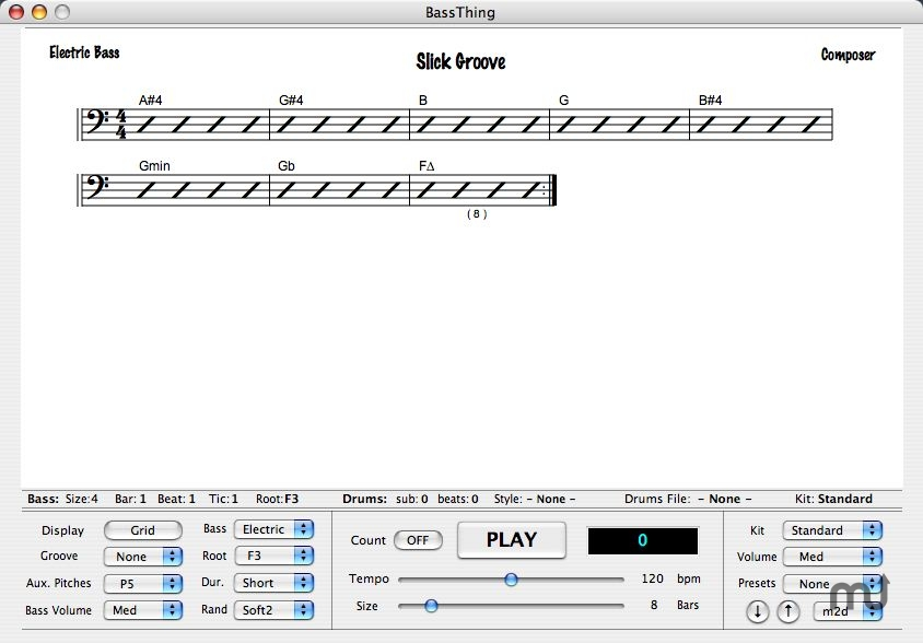 Screenshot 1 for BassThing