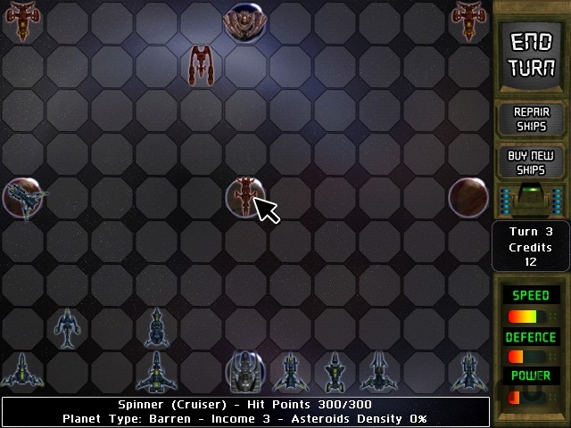 Screenshot 1 for Supernova: Galactic Wars