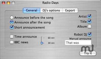 Screenshot 1 for Radio Days