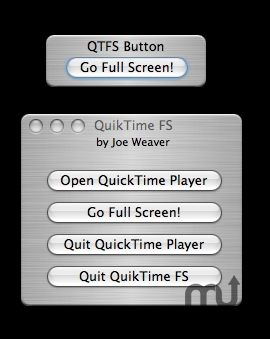 Screenshot 1 for QuikTime FS