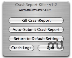 Screenshot 1 for CrashReport Killer