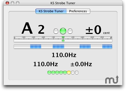 Screenshot 1 for KS Strobe Tuner AU
