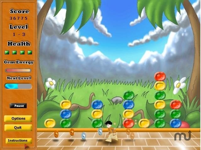 Screenshot 1 for Pow Pow's Puzzle Attack