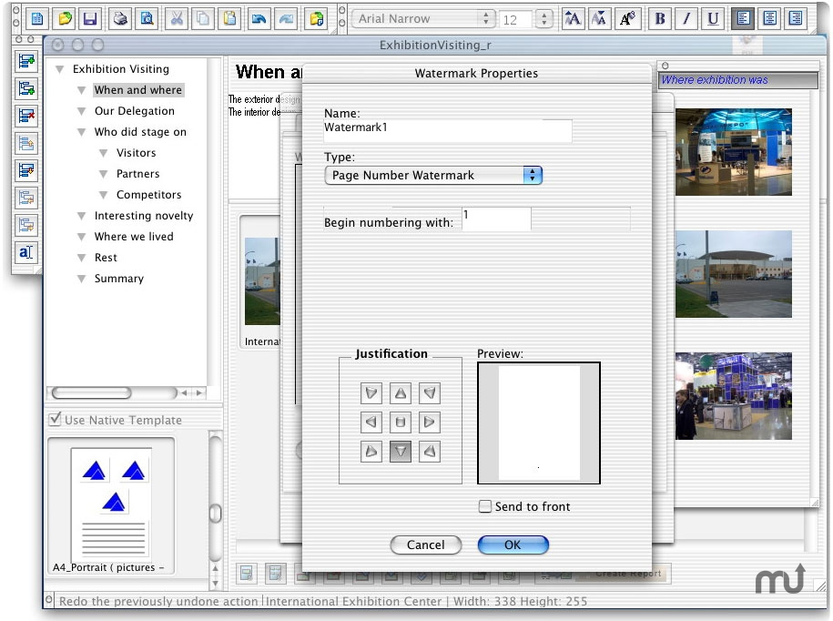 Screenshot 1 for LeadingReporter