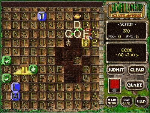 Screenshot 1 for Spellunker