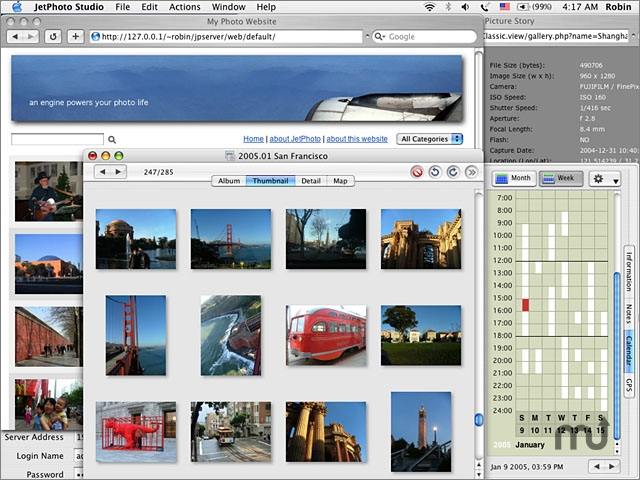 Screenshot 1 for JetPhoto Studio