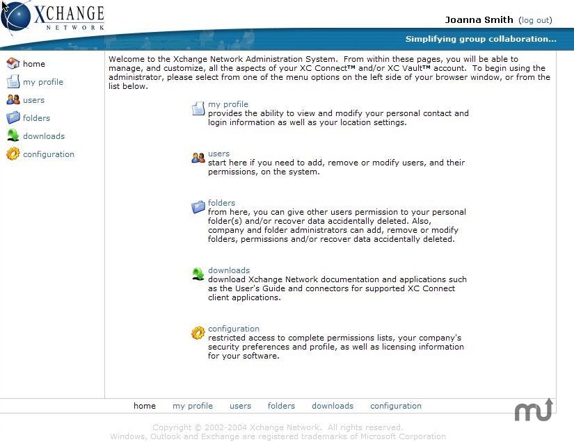 Screenshot 1 for XC Connect