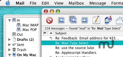 Screenshot 1 for Mail Type Select